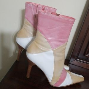 Diba Leather Upper Multicolored boots.